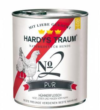 Hardys Traum Pur No.2 Huhn - 800g