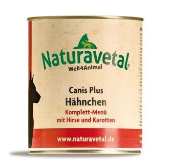 Naturavetal Canis Plus Hähnchen Menü - 800g