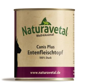 Naturavetal Canis Plus Entenfleischtopf - 800g