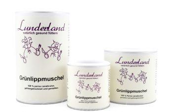 Lunderland Grünlippmuschelpulver - 250g