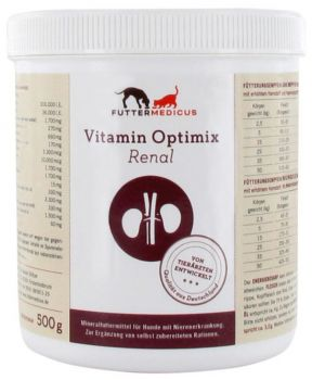 Futtermedicus Vitamin Optimix Renal - 500g