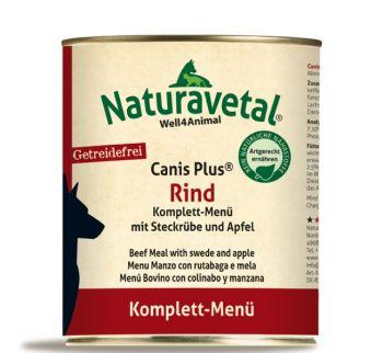 Naturavetal Canis Plus Rind Menü - 800g