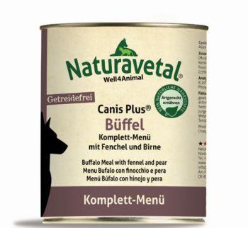 Naturavetal Canis Plus Büffel Menü - 800g