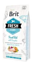 Brit Fresh Dog Fish Large Breed Muscles & Joints - 12kg