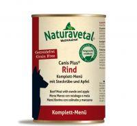 Naturavetal Canis Plus Rind Menü - 400g
