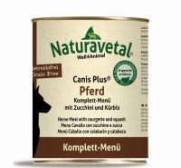 Naturavetal Canis Plus Pferd Menü - 800g