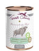 Terra Canis Wasserbüffel mit Süßkartoffel hypoallergen - 6x 400g