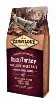 Carnilove Katze Duck & Turkey Adult Large Breed - 6kg