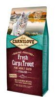 Carnilove Katze Fresh Carp & Trout Adult - 6kg