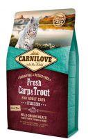 Carnilove Katze Fresh Carp & Trout Adult - 2kg
