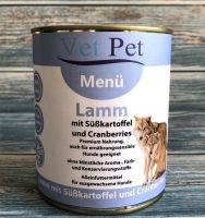 Vet Pet Menü Lamm & Süßkartoffeln - 800g