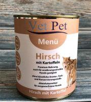 Vet Pet Menü Hirsch & Kartoffel - 800g