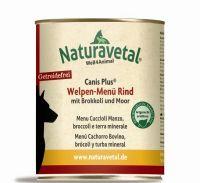 Naturavetal Canis Plus Rind Menü Welpen - 800g