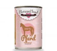 HerzensHund Pferd Reinfleisch pur - 400g