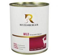 Ritzenberger Hund Wild Menü mit Amaranth