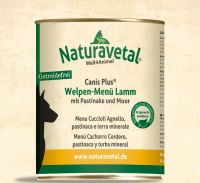 Naturavetal Canis Plus Lamm Menü Welpen - 800g