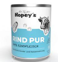 Hopeys Rind pur Fleischdose - 850g