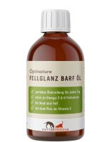 Futtermedicus Optinature Fellglanz Barf Öl - 250ml