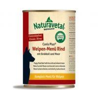 Naturavetal Canis Plus Rind Menü Welpen - 400g