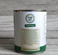 TierFit Fleischdose Hirsch pur - 66x 800g