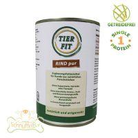 TierFit Fleischdose Rind pur - 90x 800g