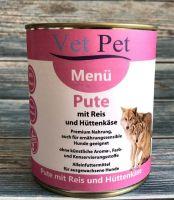 Vet Pet Menü Pute & Reis - 90x 800g