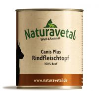 Naturavetal Canis Plus Rindfleischtopf - 800g