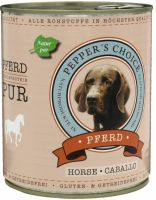 Peppers Choice Pferd Pur - 800g