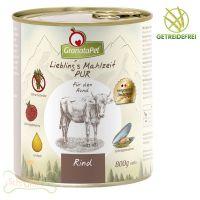 GranataPet Lieblings Mahlzeit Rind PUR - 800g