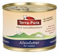 Terra-Pura Katze Pferd Kartoffelmahlzeit - 200g