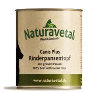 Naturavetal Canis Plus Rind Pansentopf - 800g