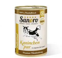 Sanoro Kaninchen pur Muskelfleisch - 400g