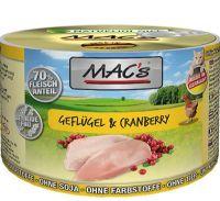 MACs Cat Dose Geflügel & Cranberry - 200g