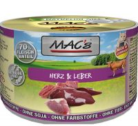 MAC's Cat Dose Herz & Leber - 200g