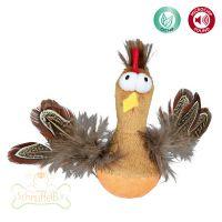 Trixie Steh-auf-Huhn mit Federn und Sound