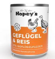 Hopeys Geflügel mit Reis Menü - 850g