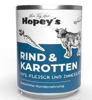 Hopeys Rind & Karotten Menü - 850g