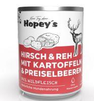 Hopeys Hirsch & Reh mit Kartoffeln Menü - 850g