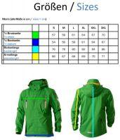 Owney Unisex Outdoor Jacke Marin - Größe M