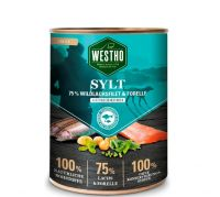 WESTHO Nassfutter Sylt Wildlachs & Forelle - 800g