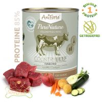 AniForte® PureNature CountryBeef Rind mit Karotte - 800g