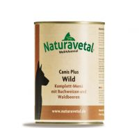 Naturavetal Canis Plus Wild Menü - 400g