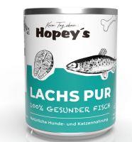 Hopeys Lachs pur Fleischdose - 800g