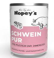 Hopeys Schwein pur Fleischdose - 850g