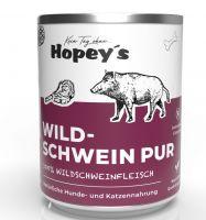 Hopeys Wildschwein pur Fleischdose - 850g