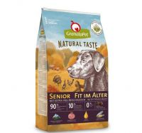 GranataPet Natural Taste Senior - 12kg