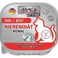 MACs Katze Vetcare Nierendiät mit Rind - 100g