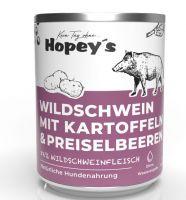 Hopeys Wildschwein mit Kartoffeln Menü - 850g
