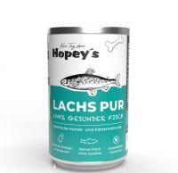 Hopeys Lachs pur Fleischdose - 400g