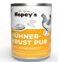 Hopeys Huhn Brust pur Fleischdose - 800g